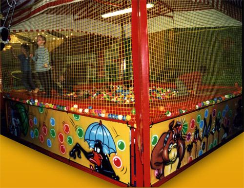 Piscina delle palline struttura fissa no gonfiabile - Piscina con palline per adulti ...